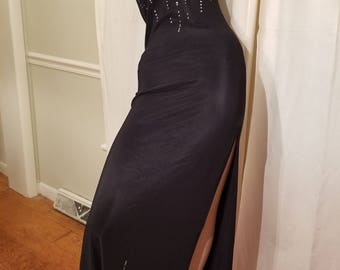 FREE  SHIPPING   Spandex  Evening  Gown