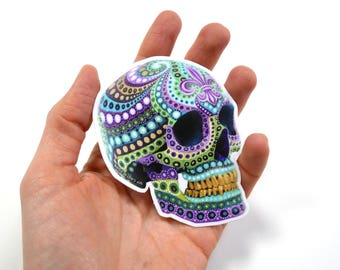 One Skull stickers