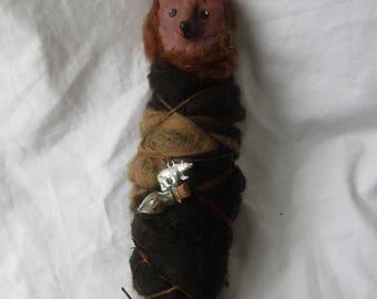 Bear spirit doll