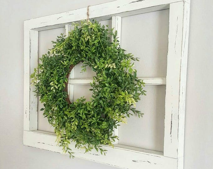Thick 6 Pane Faux Window Frame
