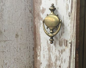 Vintage Door Knocker, Antique Brass Door Knocker, Decorative Door Knocker