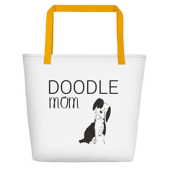 Custom Dog Beach Bag, Dog Bag, Personalized Dog Bag, Custom Bag
