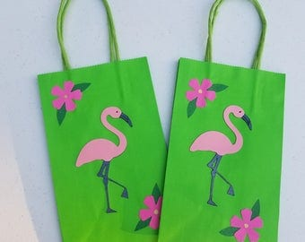 Flamingo Party Bags (24 count)