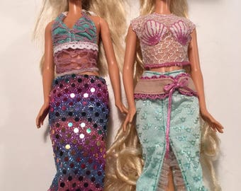 Summer Themed Barbie Lot