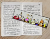 Wizard Essentials - Potions Shelf Bookmark