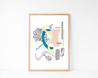 Modern Abstract Print // INSTANT DOWNLOAD