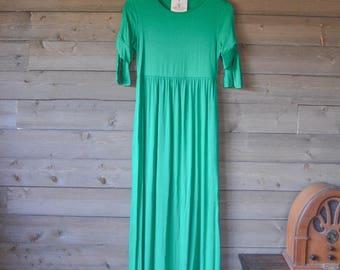 Kelly Green Maxi Dress