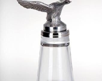 Figurea shot glass Duck stand-stainless steel/Glass Duck