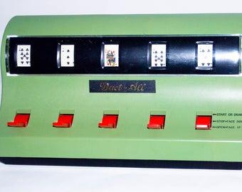 1972 Waco Duet-All Draw Poker Slot Machine Made in Japan.