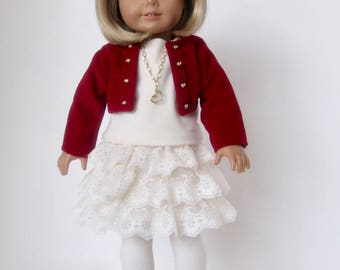 American Girl Doll: Lace Ruffles