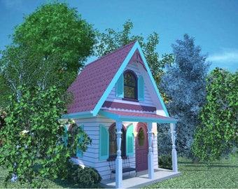 Tiny House Project - Backyard Victorian Cottage