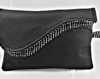 Black Everyday Fancy Clutch Bag