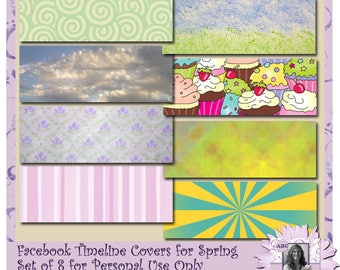 Facebook Cover Images for Spring, social media, branding, customize facebook,
