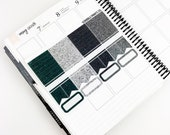 Ambitious // Glitter Header Sampler (Glossy Planner Stickers)