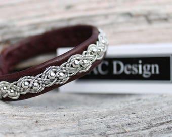 Sami bracelet | made in sweden | saami armband | viking armband | sweden jewelry | sami jewelry | bracelet lapon | silver | lapland bracelet