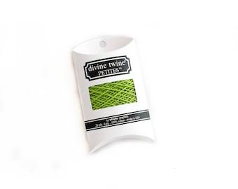 Green Bakers Twine 20 Yard Sample (Divine Twine)
