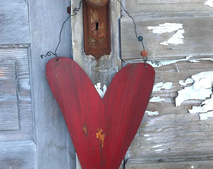 Heart, Garden Sign, Metal Heart, Farmhouse Decor, Yard art, Door Decor, Home Decor, Rustic Decor, Heart Decor, Garden Decor, Country Decor