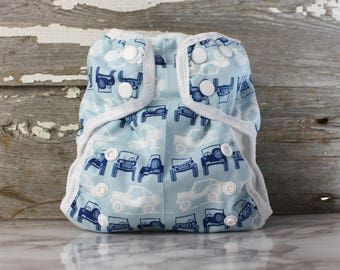 Jeep AI2 Size Small cloth diaper for prefolds or inserts
