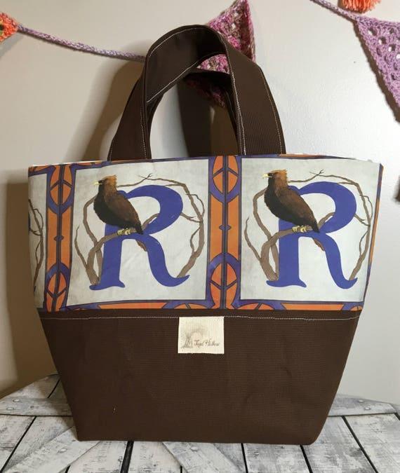 Knitting bag Harry Potter Ravenclaw Medium Knitting Project Bag Crochet Project Bag Toad Hollow Bag Medium Tote Bag Hogwarts House Tote bag