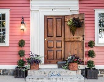 Wickford Doors ~ 152 ~ Wickford, Rhode Island, Historic Homes, New England, Home Decor, Wall Art, Photo, Art, Photograph, Artsy, Artwork