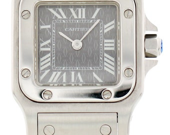 Ladies Cartier Santos Stainless Steel 1565
