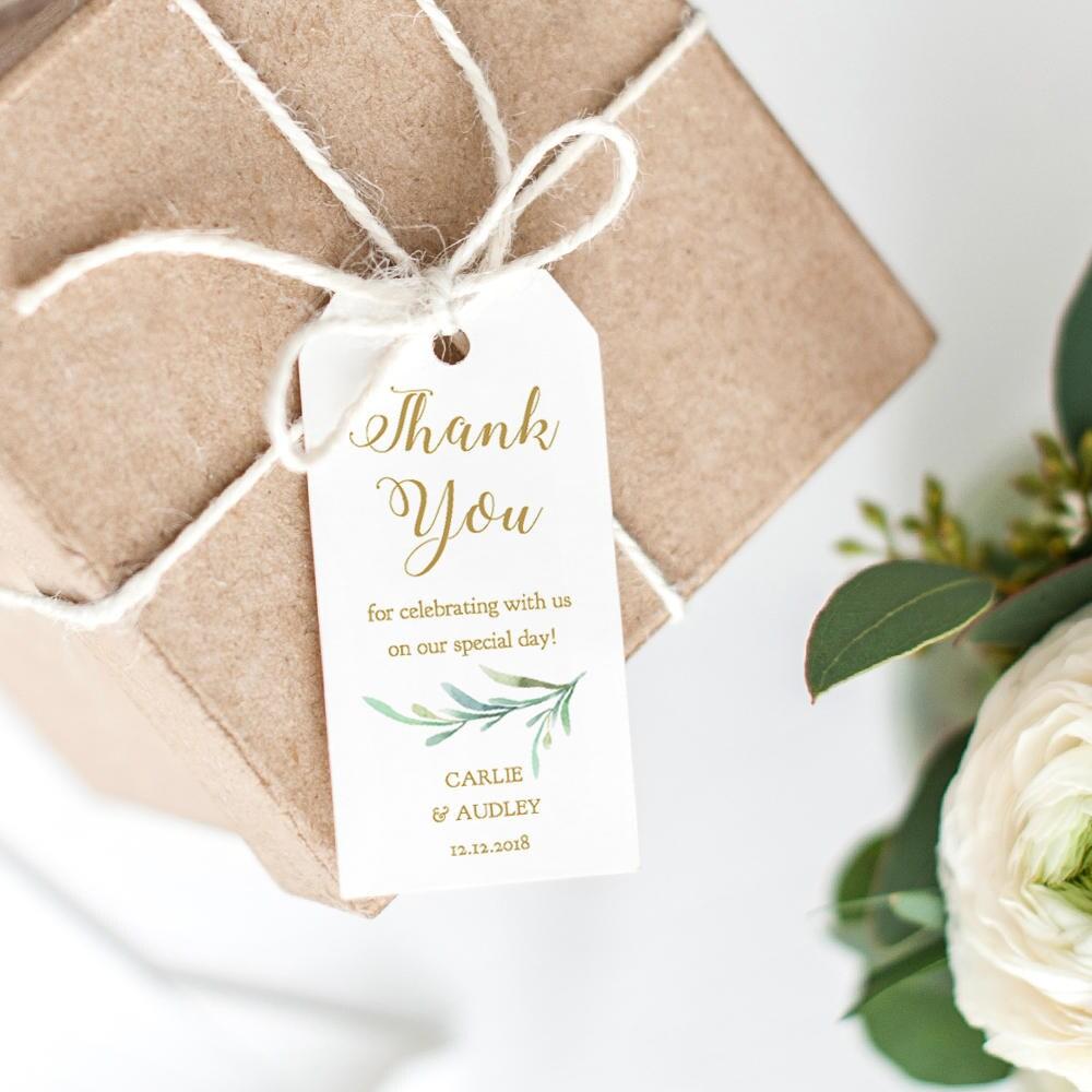 Thank You Tag, Wedding Favor, Wedding Thank You Tags, Gift Tags ...