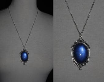 Necklace [Blue Medallion]