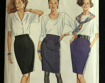 New Look 6471 - Knee Length Tapered Skirts - Size 8 10 12