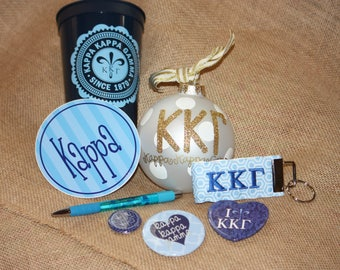 Kappa Kappa Gamma Sorority Gift Set