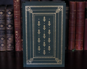 Fine Binding Hollow Book Safe, Tom Jones by Henry Fielding, Magnetic Snaps, Leather Bound, Decorative Book