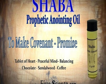 Shaba Prophetic Anointing Oil