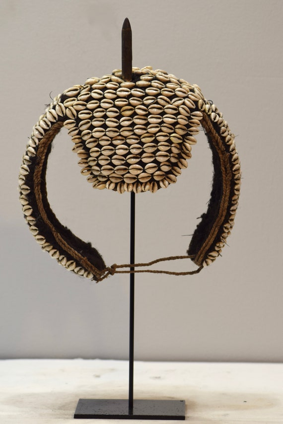African Mask Warrior's Headdress Bongo People Sudan East Africa Warrirors Headdress