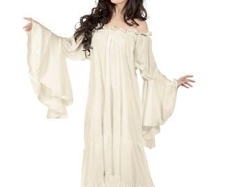 Mythic Sleeve Chemise Tiered Dress