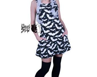 Batsy nu-goth dress