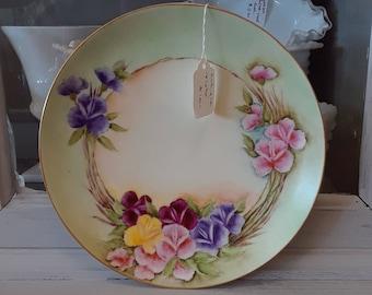 Antique M.Z. Austria Porcelain Plate