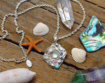 Mermaid Galaxy Necklace