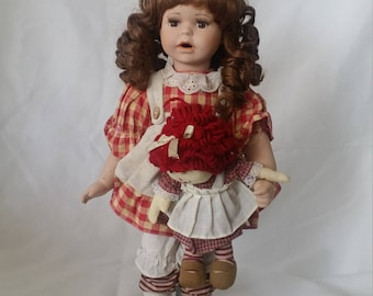 Elsie ~ Haunted 17 Inch Porcelain Doll ~ Paranormal ~ Happy Soul ~ Positive Energy ~ Hurricane in Galveston Texas