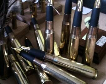 50 Cal Bullet Pens