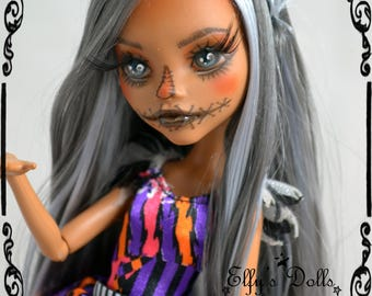 """OOAK Monster High """"Electra"""" / custom doll collection"""