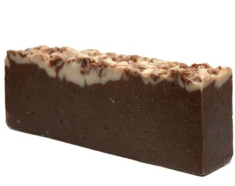 Chocolate & Olive Oil Soap,Savon,cold processed soap, seife