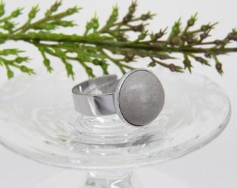 Concrete ring-Stainless steel-gift-