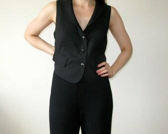 Wolford Black Wool Vest