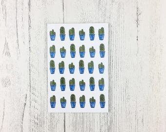 Cactus Gift / Mothering Sunday Gift / Cactus Notebook A6 / Gift For Gardeners / Gift For Women / Gift For Friend / Cactus Lover