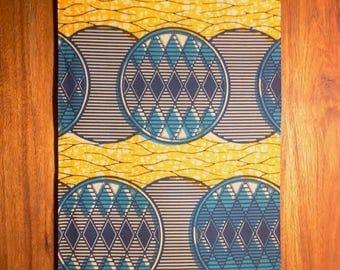 Julius Holland / Guaranteed Wax Block Print / Full 6 yards / Sewing Fabric