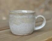Natural Mug - Handmade Pottery Mug - Ceramic Mug - Small Coffee Mug - Tea Cup - Espresso Cup - Cappuccino Mug