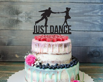 Dancers engagement cake topper- Customizable engagement Cake Topper- Personalized dancer cake topper-Wedding Cake Topper- custom Cake topper
