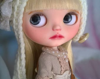Custom Blythe OOAK doll Border Spirit (Takara)