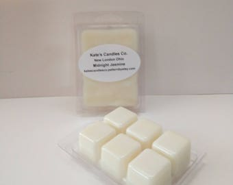Midnight Jasmine Soy Wax Melts, flower wax melts,spring wax melts