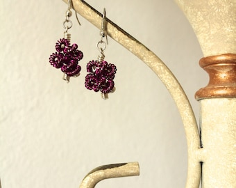 Twisted Coil Wire Earrings