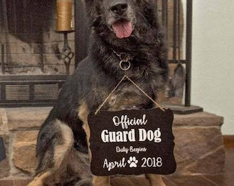 Official Guard Dog (Baby Announcement)